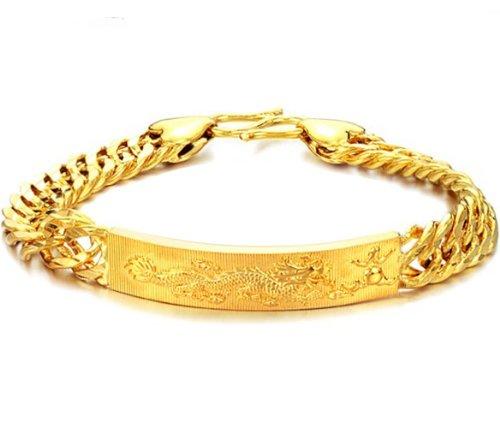 herren armreif gold