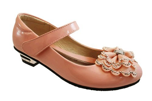Surf 4 Shoes , Mädchen Mary Jane Halbschuhe Rose