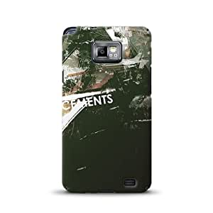 Diabloskinz D0055-0034-0028 Reinforcements - Carcasa estampada para Samsung Galaxy S2