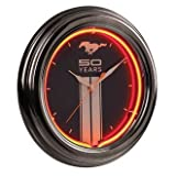 Ford Mustang Fifty Years Neon Clock Celebrates Sally's Ride by Branded Products