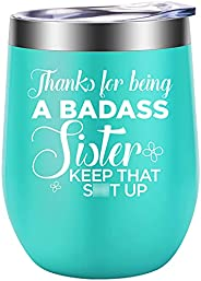 Funny Gifts for Sister, Sister in Law, Sisters - Sister Gifts from Sister, Brother - Thank You, Birthday Gifts