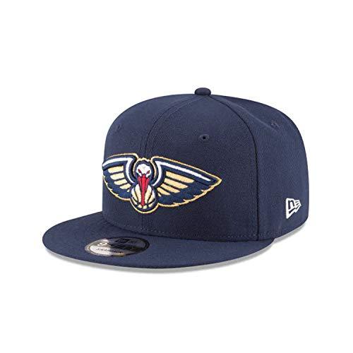 - NBA New Orleans Pelicans Adult Men NBA 9Fifty Team Color Basic Snapback Cap,OSFA,Navy
