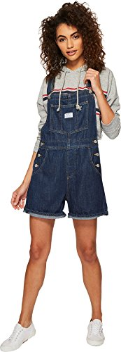 Levi's Women's Vintage Shortalls, Last Time Lover, X-Large (Cotton Tencel Short)