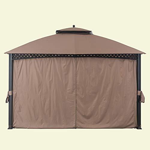 Sunjoy 110109104 Original Replacement Curtain for Windsor Gazebo (10X12 Ft) L-GZ717PST-C Sold at BigLots, Tan