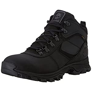 Timberland Men's Mt. Maddsen Hiker Boot,Black,10.5 M US