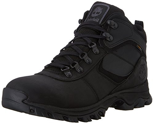 Timberland Men's Mt. Maddsen Hiker Boot,Black,10 M US