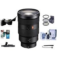 Sony FE 24-70mm f/2.8 GM (G Master) E-Mount NEX Camera Lens - Bundle With 82mm Filter Kit, Flex Lens Shade, Cleaning Kit, Capleash II, Lenspen Lens Cleaner, Software Package