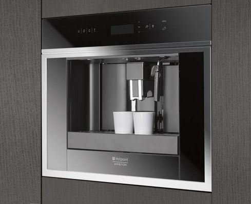 Ariston - Cafetera Encastre Mck103Xha, Espresso, Electronica ...