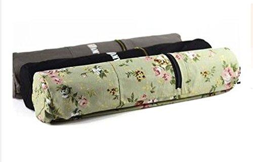 Geeignet für Frauen Yoga-Matte Taschen, Seicht Green Printing
