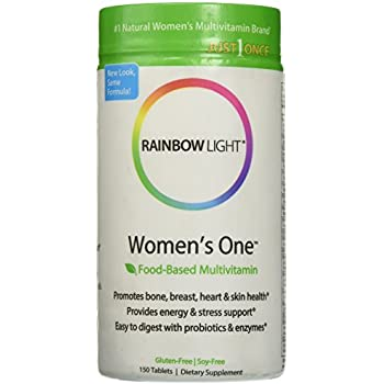 Amazon Com Rainbow Light Womens One Multivitamin Mineral