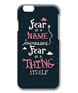 iCustomonline Harry Potter Quote Protective 3D Hard Case for iPhone 6 Plus( 5.5 inch)