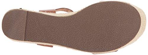 Steve Madden Kvinders Travle Kile Sandal Cognac Læder 7Ldf5D