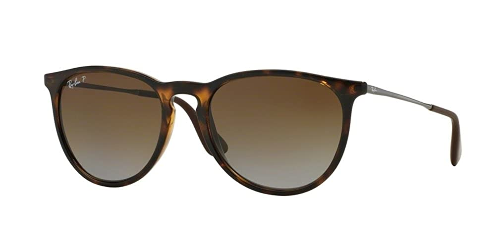 d2bbaed7f71 Amazon.com: Ray-Ban RB4171 710/T5 Erica Tortoise Frame/Polarized Brown  Gradient Lens: Clothing