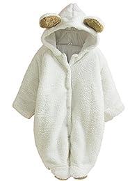 Tailloday Winter Baby Animal Fleece Jacket /Coat /Siamese Romper