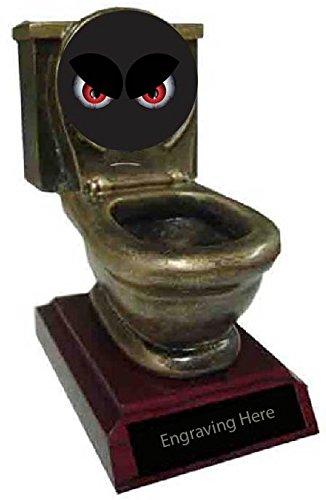 Scariest Halloween Costume Toilet Trophy]()