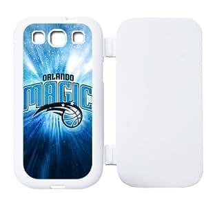 Cellphone accessories Samsung Galaxy SIII i9300 Flip Case Orlando Magic background design-by Allthingsbasketball
