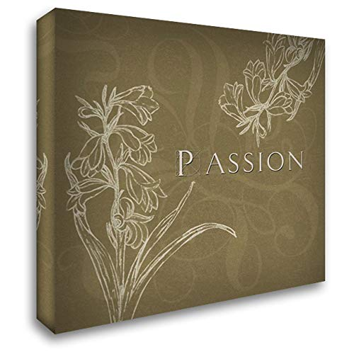 Passion 20x20 Gallery Wrapped Stretched Canvas Art by Tanner, Jan