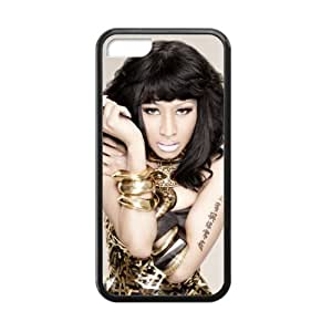 Nicki Minaj Cell Phone Protector for iPhone 5C Plastic and TPU (Laser Technology)