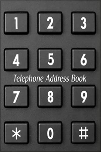 Telephone Address Book Telephone, Address  Birthday Organizer in