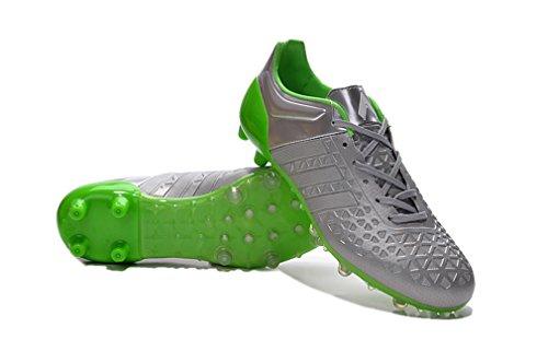 Herren ACE 15,1FG silber Low Fußball Schuhe Fußball Stiefel