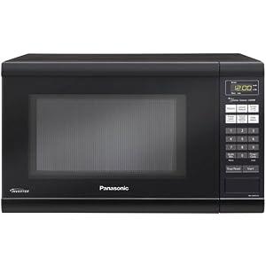 Panasonic NN-SN651B Black 1.2 Cu. Ft Countertop Microwave Oven with Inverter Technology