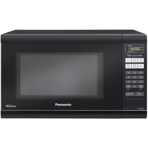 Panasonic NN-SN651B Black 1.2 Cu. Ft Countertop Microwave Oven with Inverter Technology