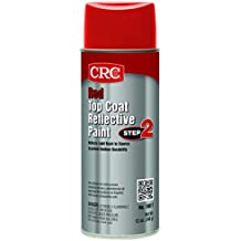 CRC 18017 Red Reflective Paint - Top Coat, 12 WT oz., 16 fl. oz. Aerosol