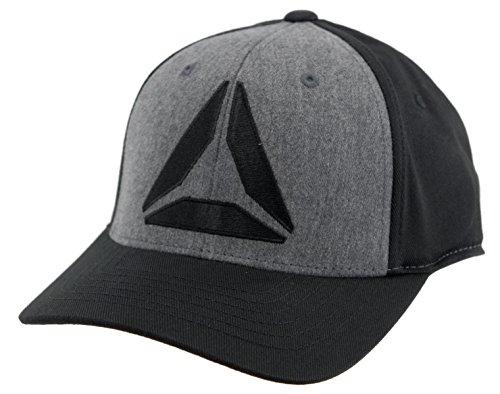 Baseball Reebok Hat - Reebok Youth Delta Flexfit Cap (Black)