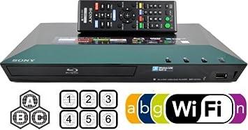 SONY BDP-S3100 Multi Zone All Region Code Free Wi-Fi DVD Blu ray