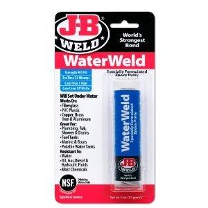 WATERWELD EXPOXY 2OZ (Pkg of 3)