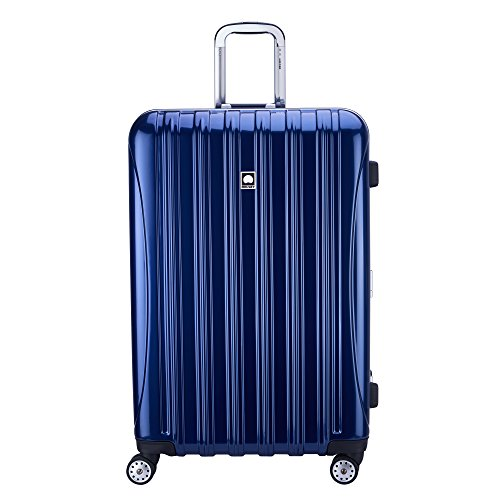 Delsey Luggage Aero Frame 29 Inch Spinner, Blue