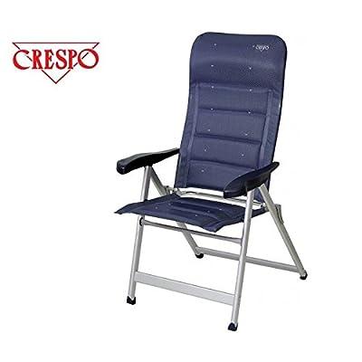 !! encore peu de stock-xXL-chaise camping-sUPER-sTABIELO eXRA large-charge maximale : 200 kg-avec 6 positions réglables - 81 cm-dossier haut-dos accoudoir ergonomique-châssis en dURALUMINIUM-raccord ovale l&eacu