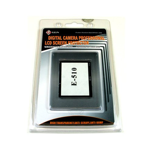 GGS DSLR LCD Optical Glass Screen Protector for Olympus E-410/E-510 cameras by GGS