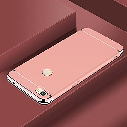 sports shoes eee23 0da19 Xiaomi Redmi Y1 / Mi Y1 Back Cover 3 in 1 Electroplated: Amazon.in ...