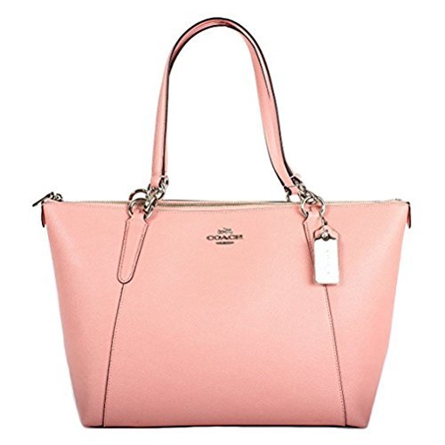 (Coach Crossgrain Leather Ava Tote F57526 Blush )