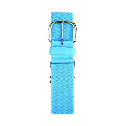 Champro (チャンプロ) 伸縮性野球用ベルト、1.5インチ合成タブ付き B01MQR3YKUChampro Youth Synthetic Baseball Belt, Light Blue, 1-1/4\ Light Blue