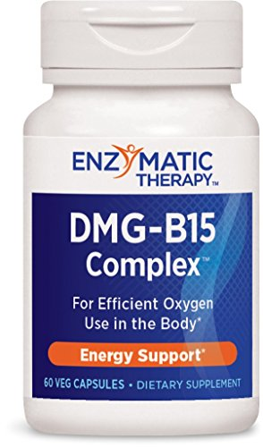 Enzymatic Therapy DMG-B15 ComplexTM for Efficient Oxygen Use in The Body, 60 VCaps
