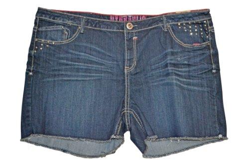 Hydraulic Women's Plus Size Denim Shorts 24W