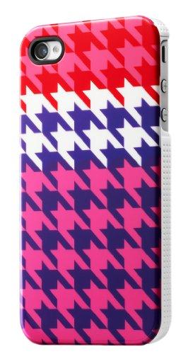 House of Holland Coque IMD pour iPHONE 4/4S - Pied de Poule