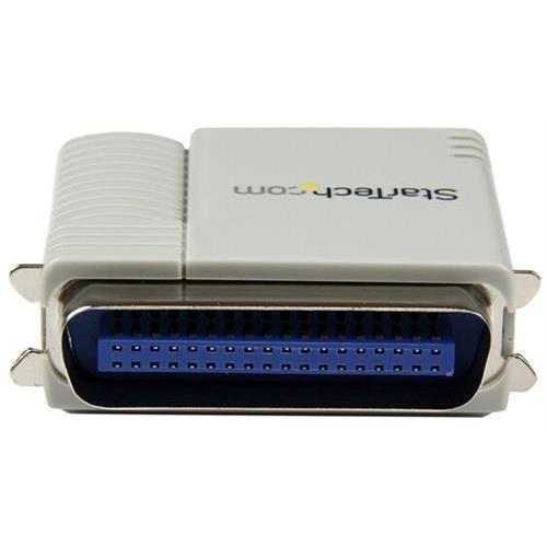 StarTech PM1115P2 1 Port 10/100 Mbps Ethernet Parallel Network Print Server