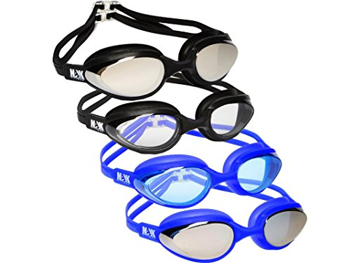 NAK Fitness Swim Goggles Anti Fog No Leaking Swimming Goggles for men women and - Vs Polarized Glasses Non Polarized