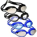 NAK Fitness Swim Goggles Anti Fog No Leaking Swimming Goggles for men women and kids