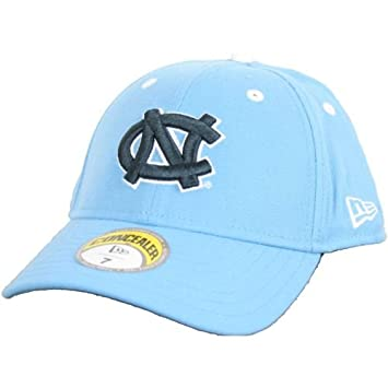 98e4609b2cc North Carolina Tar Heels New Era Concealer Fitted Hat - Blue - Fitted - 7 5