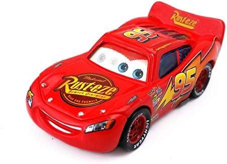 Disney Disney Pixar Cars Radiator Springs Lightning Mcqueen Flash Eye Diecast Toy Car 1 55 Loose In Stock Amazon Co Uk Toys Games
