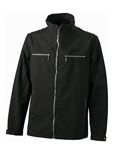 Men's Tailored Nuovo Moda Alla Softshell Black Giacca Uomo Design qPwHaPXR