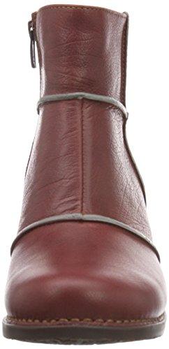 Damen Kurzschaft Stiefel Genova art Bordeaux xTSq8WC8w