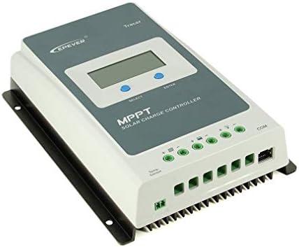 002fr Tracer 4210AN MPPT 40 A Solar-Ladegerät-Controller LCD Auto EPEVER Regler Grau & Schwarz