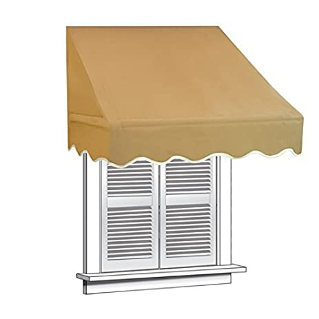 ALEKO 8 X 2 Feet Window Awning Door Canopy 8-Foot Decorator Awning Sand  sc 1 st  Amazon.com : 8 foot canopy - memphite.com