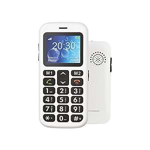 Teléfono móvil dual sim senior phone con teclas grandes y botón SOS para llamada de emergencia-Teléfono para personas mayores de nueva generación