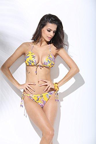 2017 nueva impresión nacional del viento traje de baño atractivo del bikini